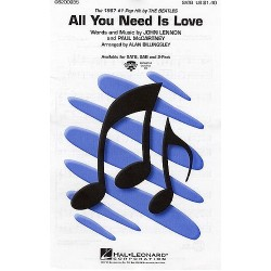 ALL YOU NEED IS LOVE (SATB)