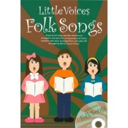 LITTLE VOICES FOLK SONGS (+CD)