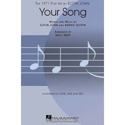 YOUR SONG (SATB)