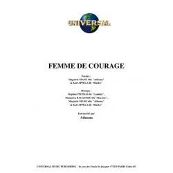 FEMME DE COURAGE