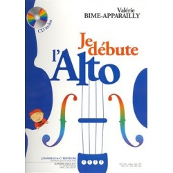JE DÉBUTE L'ALTO Valerie Bime-Apparailly