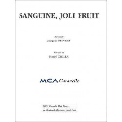 SANGUINE, JOLI FRUIT