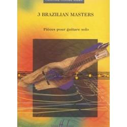 3 BRAZILIAN MASTERS
