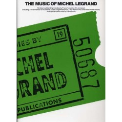 THE MUSIC OF MICHEL LEGRAND (Piano Solo)