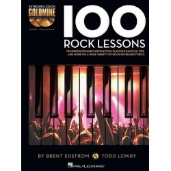 100 ROCK LESSONS KEYBOARD...