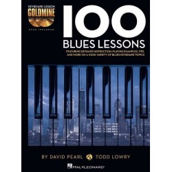 100 BLUES LESSONS KEYBOARD...