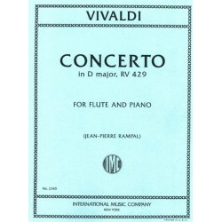 CONCERTO IN D MAJOR (FLUTE...