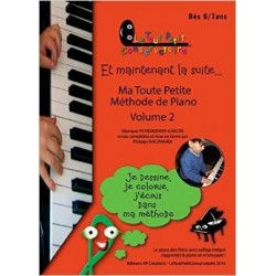 MA TOUTE PETITE MÉTHODE DE PIANO VOL.2