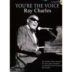 RAY CHARLES YOU'RE THE VOICE (+ CD)