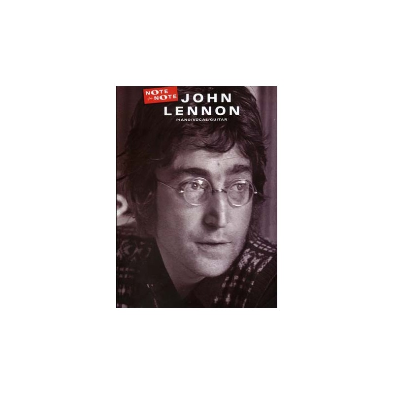 JOHN LENNON NOTE FOR NOTE