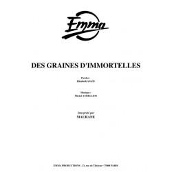 DES GRAINES D'IMMORTELLES