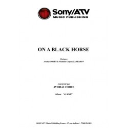 ON A BLACK HORSE