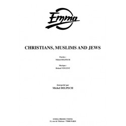 CHRISTIANS, MUSLIMS AND JEWS