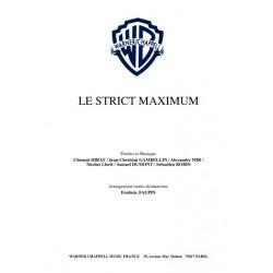 LE STRICT MAXIMUM