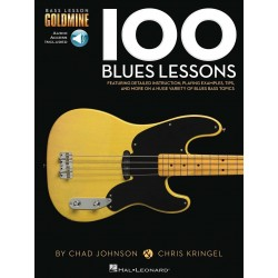100 BLUES LESSONS BASS...