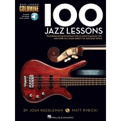 100 JAZZ  LESSONS BASS...