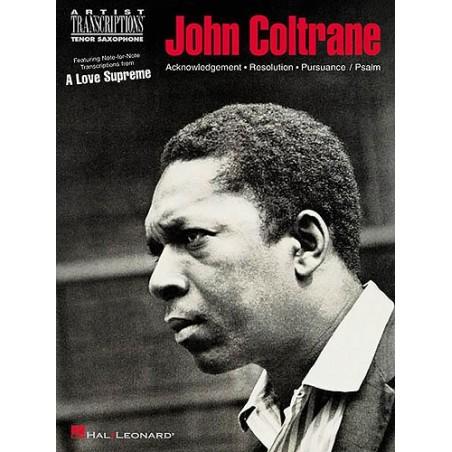 JOHN COLTRANE - A LOVE SUPREME (TENOR SAX)
