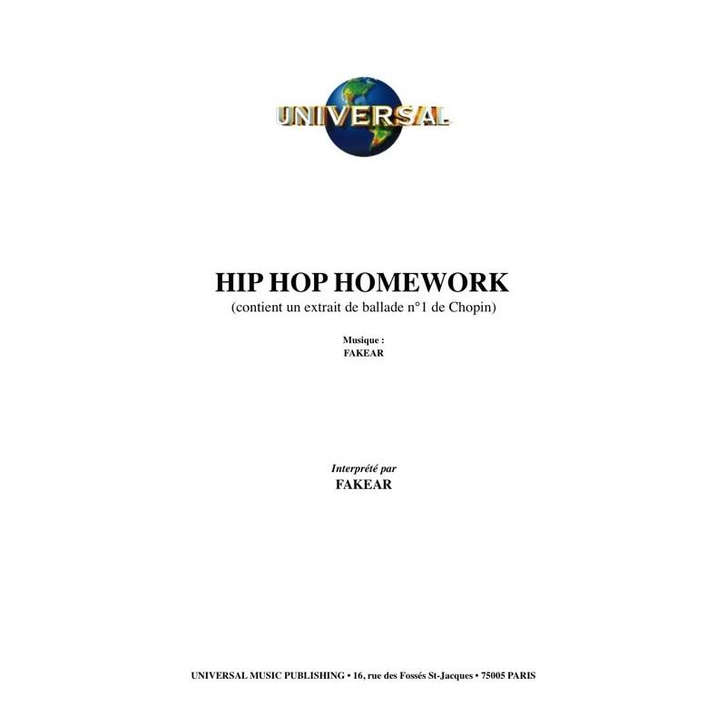 hip hop homework fakear