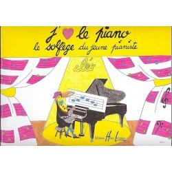 CLEO : J'AIME LE PIANO (LE SOLFEGE DU JEUNE PIANISTE)