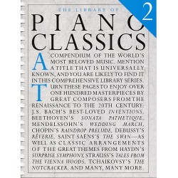 THE LIBRARY OF PIANO CLASSICS BOOKS 2