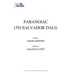 PARANOIAC (TO SALVADOR DALI)