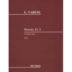 DENSITY 21.5 for flute alone