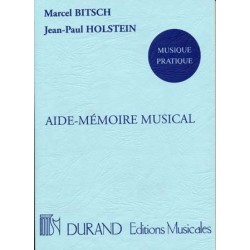 AIDE-MÉMOIRE MUSICAL Marcel Bitsch and Jean-Paul Holstein