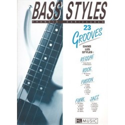 BASS STYLES : 23 GROOVES