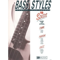 BASS STYLES : 19 SOLOS