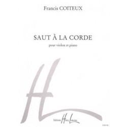 SAUT À LA CORDE Francis COITEUX