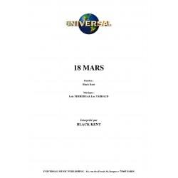 18 MARS