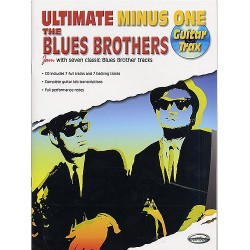 ULTIMATE MINUS ONE : THE BLUES BROTHERS (TAB + CD)