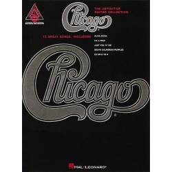 THE DEFINITIVE GUITAR COLLECTION : CHICAGO (TAB)