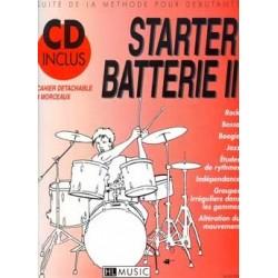 STARTER BATTERIE VOL.2 (+CD)