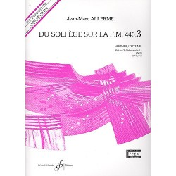 DU SOLFEGE SUR LA F.M. 440.3 (LECTURE/RYTHME) Préparatoire 1