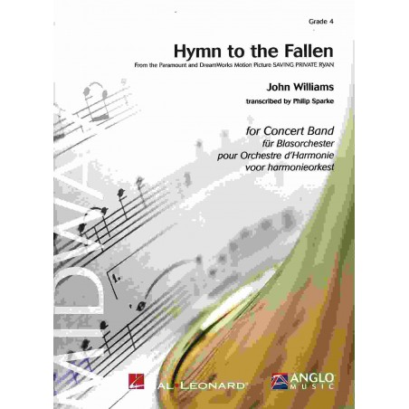 HYMN TO THE FALLEN (For CONCERT BAND) Score/Parts