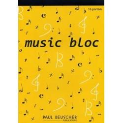 MUSIC BLOC 16 PORTÉES