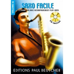 SAXOPHONE FACILE VOL.2 (+CD)
