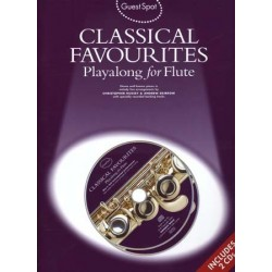 GUEST SPOT - CLASSICAL FAVOURITES PLAYALONG FOR FLUTE (+CD)