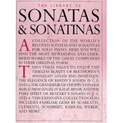 THE LIBRARY OF SONATAS AND SONATINAS