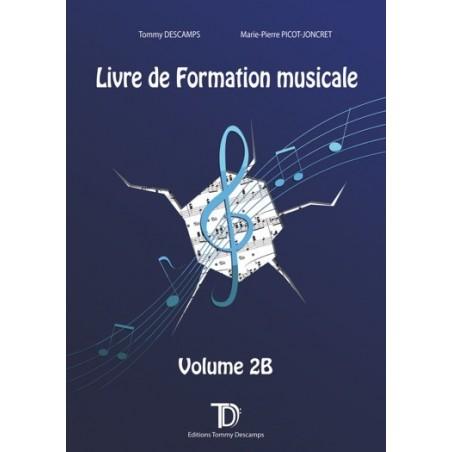 LIVRE DE FORMATION MUSICALE - VOLUME 2B
