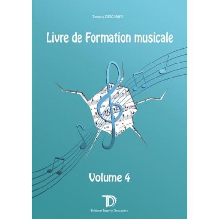LIVRE DE FORMATION MUSICALE - VOLUME 4
