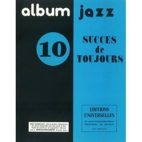 ALBUM JAZZ N°1 – 10 SUCCÈS DE TOUJOURS
