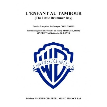 L'ENFANT AU TAMBOUR (THE LITTLE DRUMMER BOY)