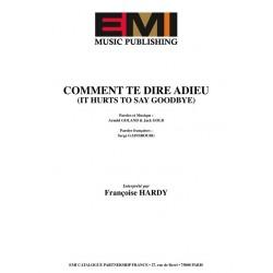COMMENT TE DIRE ADIEU (IT...