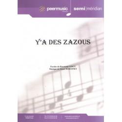 Y'A DES ZAZOUS