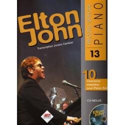 SPECIAL PIANO Nº13 ELTON JOHN (+ CD)