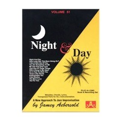 AEBERSOLD VOL.51 - NIGHT AND DAY (+CD)