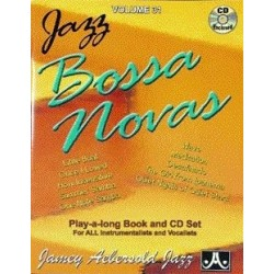 AEBERSOLD Vol.31 BOSSA NOVAS (+ CD)