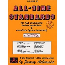 AEBERSOLD VOL.25 - ALL-TIME STANDARDS (+CD)